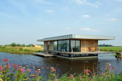 Watervilla de Roerdomp, Grou (Friesland)